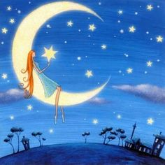 ♥•*¨*• holding a twinkle, twinkle bright star by your side