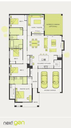 McDonald Jones Homes - Avoca Collection - Floorplan #Floorplans #luxuryhome