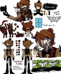 Ask or dare The butcher gang ft the fnaf pole bear animatronics (the sequel) - My otps and characters personalities and special announcement - Page 3 - Wattpad Five Nights At Freddy's, Freddy S, Pole Bear Fnaf, Animatronic Fnaf, Fnaf Sister Location, Anime Fnaf, Fnaf 1, Fnaf Characters, Freddy Fazbear