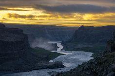 Sunset / Sonnenuntergang, Iceland / Island