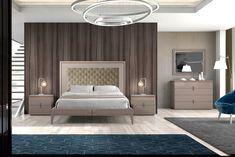 NEREA bedroom. Monrabal Chirivella www.monrabalchirivella.com #furniture #interiordesign #interiors #homedecor #decor #style #contemporary #bedroom #bedroomideas Interior S, Interior Design, Rustic Chic, Contemporary Furniture, Bedroom, Modern, Trends, Home Decor, Style