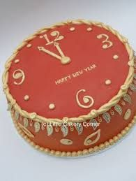 11 Best New Year Cake Images Fondant Cakes Cake Ideas New Years Eve
