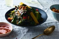 Braised Chard with Tahini and Pine Nuts recipe on Food52