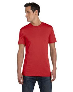 Bella + Canvas Unisex Jersey Short-Sleeve T-Shirt 3001C CANVAS RED