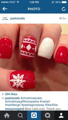 Christmas nails art :)