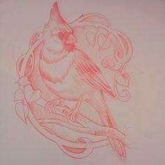 Sketch by Tattoo Artist Luis Orellana Jugendstil in Berlin, Germany / www.tattoosberlin.com