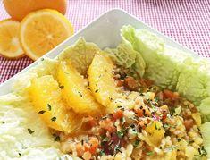 Tasty, Yummy Food, Cantaloupe, Salads, Fruit, Healthy, Orange, Dressings, Food And Drinks