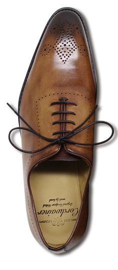 "bleuclair | Rakuten Global Market: Cordwainer ""Cordwainer"" CADMAN: hole cut Medallion shoes SPAIN HAND MADE men's shoes shoes men's shoes business shoes"