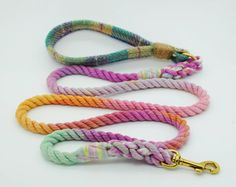 3ced1b3c6e Handmade Leashes, Collars, and Bow Ties from Bramble & Friends  Hundehalsbänder, Bramble,