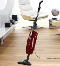 The Miele S194 Quickstep Vacuum includes a powerful 1,000-watt motor, a generous cord with a 28-foot operating radius, and Miele's superior air filtration system. Compact and lightweight (only 9 pounds), it can easily be stored in the corner of a closet. | #VacuumCleaner #Houseware |