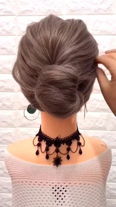 Step By Step Hairstyles, Easy Hairstyles For Long Hair, Pretty Hairstyles, Girl Hairstyles, Hairstyle Ideas, Girls Hairdos, Medium Hair Updo Easy, Hairstyle Tutorials, Hair Tutorials For Medium Hair