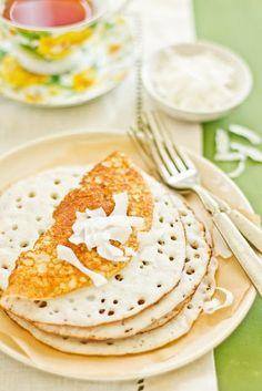 Vibibis--Tanzanian Rice and Coconut Pancakes with Cardamom (Gluten-Free)  #Tanzania #Food #Exotic #ShermanFinancialGroup