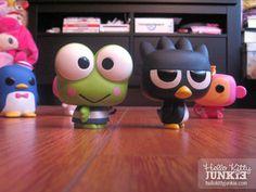 Funko POP! Sanrio collectible vinyl toys from Fugitive Toys -- Keroppi + Badtz-Maru