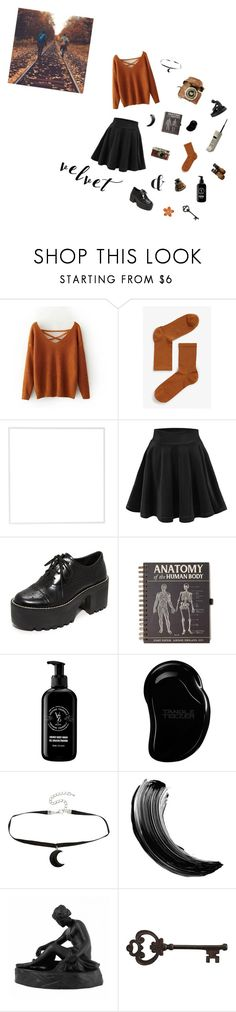 """""""Crushing on Velvet (Contest Entry)"""" by mormon-girl ❤ liked on Polyvore featuring Monki, Menu, Alice + Olivia, V76 by Vaughn, Tangle Teezer, Leica, Hot Topic, Maybelline, Wedgwood and Pier 1 Imports"""