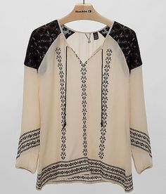 Boutique Embroidered Top