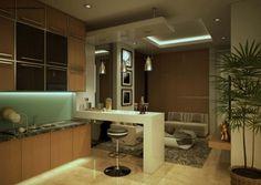 desain apartemen minimalis type 2 BR