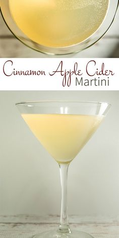 A delightful holiday cocktail, the Cinnamon Apple Cider Martini features a delicious cinnamon apple cider simple syrup that is so versatile that you're going to want to use it with food, desserts, and tea as well!
