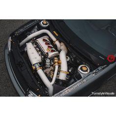 VW engine bay 1.8t