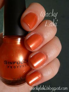 Sinful Colors - Tapping Nails