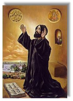 Saint Nimatullah (Grace of God). Lebanon's Catholic Saint. He consecrated his life to monastic service. He was a role model for priest and Christians, he influenced St. Sharbel and St. Rafka. His daily life was divided between prayer and work. He exemplified the motto, ora et labora, pray and work. Many miracles have been attributed to him