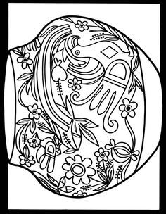 North American Indian Designs stained glass coloring book-doverpubications