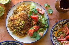 Yucatan-style salmon with capers and tomatoes Achiote Recipe, Healthy Cooking, Healthy Recipes, Endive Recipes, Salmon Marinade, Jucing Recipes, Mackerel Recipes, Tagine Recipes