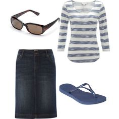 """Summertime"" by holiness-preachers-wife on Polyvore"