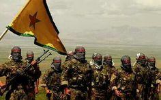 Kurdish Army YPG