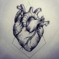 Tattoo Artist Miss Sita done at Oneonine Tattoo Barcelona Anatomical heart Heart Tattoo Designs, Tattoo Designs For Women, Heart Anatomy Tattoo, Tattoo Vieja Escuela, Scarification Tattoo, Brain Tattoo, Dibujos Tattoo, Herz Tattoo, Back To Nature