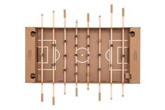 Kartoni is as big as a professional foosball table, but is mobile, budget-friendly and made from 100% renewable raw materials. Only the game bars and the ball are made of wood; the rest is made from stable cardboard. The table football set is delivered in…