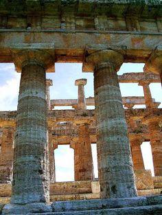 Tempio di Nettuno o Poseidone (metà del V sec a.C.)  #Paestum, UNESCO World Heritage