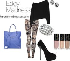 """""""Edgy Madness"""" by karenrstyling on Polyvore"""