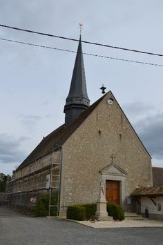 Eglise Saint-Martin te Saint-Martin-des-Champs (Yvelines 78)