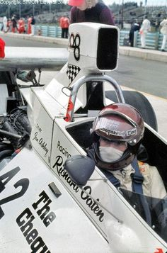 Ian Ashley--- is a British racing driver who raced in F1 for the Token, Williams, BRM and Hesketh teams. He was to become a victim of two nasty ACCIDENTS on circuits that were no longer used by F1 soon after his two accidents!!
