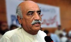 """Govt. Deployed Military In Islamabad Out Of Fear Of PTI's Long March,"" Claims Leader Of The Opposition Khursheed Shah"