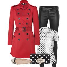 Playing with Polka dots, created by striplingmom-1 on Polyvore