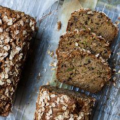 Zucchini Bread with Oats Recipe - Bon Appétit