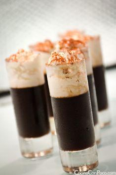 Café en Gelatina - Café Vienes en Texturas - Recetas paso a paso con fotos - Cocina Con Poco