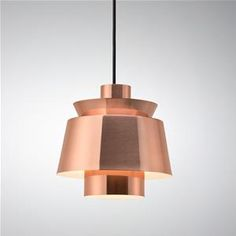 Utzon lamp in Copper - by the man who designed the Opera House.  $695.