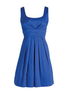 Sleeveless Pleated Dress -- Delias $49.50