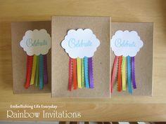 Rainbow Party - favour bag ideas?