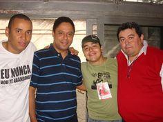 Com meus amigos Marcelo Gavião, Orlando Silva e André Vitral!