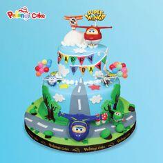 Super Wings D   Birthday Cake   Kumpulan Birthday, Wedding, Parcel Cake Dari Pelangi Cake di Jakarta