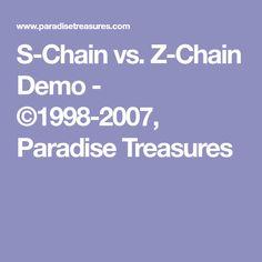 S-Chain vs. Z-Chain Demo - ©1998-2007, Paradise Treasures