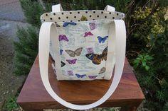 Handmade Women's Lined Betty Shoulder Bag in by HectorsHouseCraft