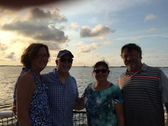 Dr. Davis and Dr. Engert visited Amelia Island in Florida recently. While they were there they got to spend some time with long time patients, Sue and Art! #parkridgedentist