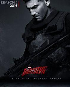 UPDATE: FAN ART: Jon Bernthal As THE PUNISHER (Season 2 of the Daredevil)