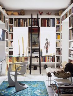 trendy home library wall book nooks Bookshelves Built In, Bookcases, Bookshelf Styling, Book Shelves, Build Shelves, Bookshelf Design, Library Wall, Library Ideas, Future Library