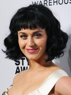 Katy Perry Boy Cut Black Short HaircutsShort Hairstyles