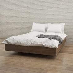 Nexera Alibi Platform Bed   AllModern